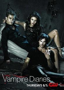 Дневники вампира постер сериала