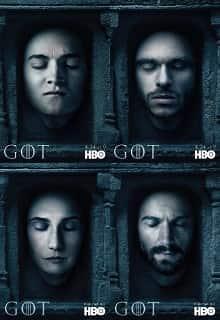 Игра престолов постер сериала