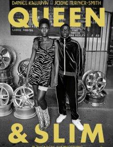 Квин и Слим постер фильма