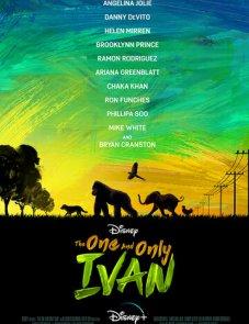 Айван, единственный и неповторимый (2020) постер фильма