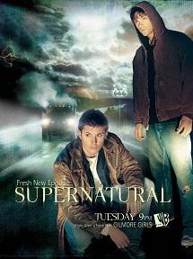 Сверхъестественное постер сериала